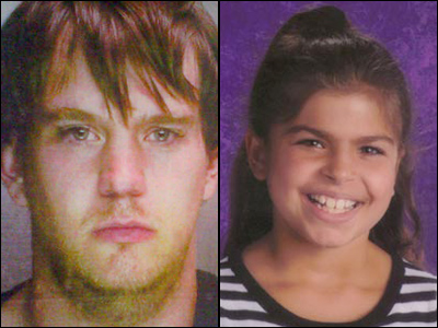 James Lee Troutman, 24, was charged with murder Tuesday in the death of Skyler Kauffman, 9, who was reported missing Monday.