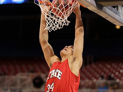 Tyler Harris averaged just 1.8 points, 1.2 rebounds and 6.9 minutes this past season as a freshman. (Jeff Roberson/AP)