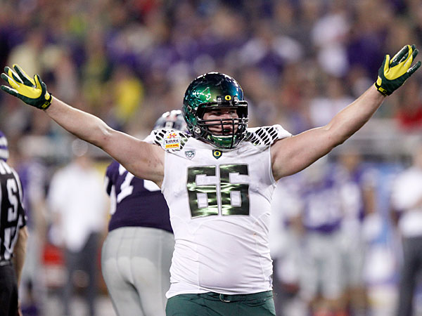 Oregon´s Taylor Hart. (Paul Connors/AP)