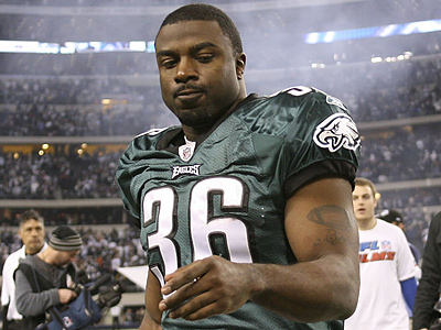 There are reports that Brian Westbrook will visit the Redskins. (Yong Kim / Staff Photographer)