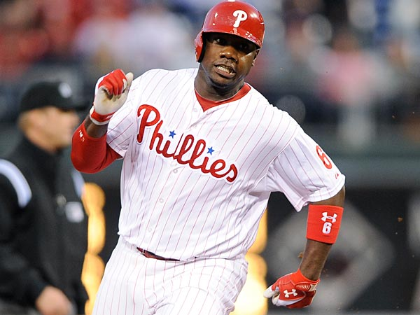 Phillies first baseman Ryan Howard. (Michael Perez/AP)