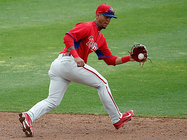 The Phillies´ Ronny Cedeno. (Kathy Willens/AP)