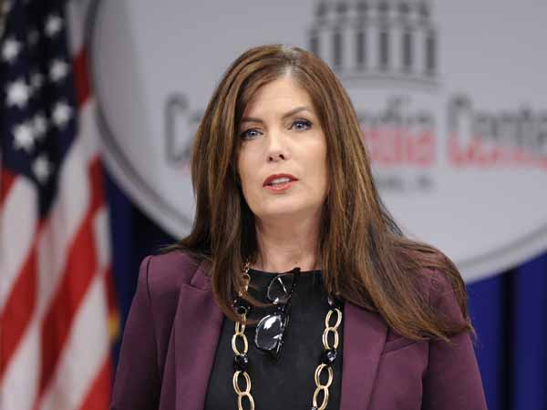 Pennsylvania Attorney General Kathlen Kane is holding a news conference today about the state´s investigation into Jerry Sandusky. (AP Photo/Bradley C  Bower/File)