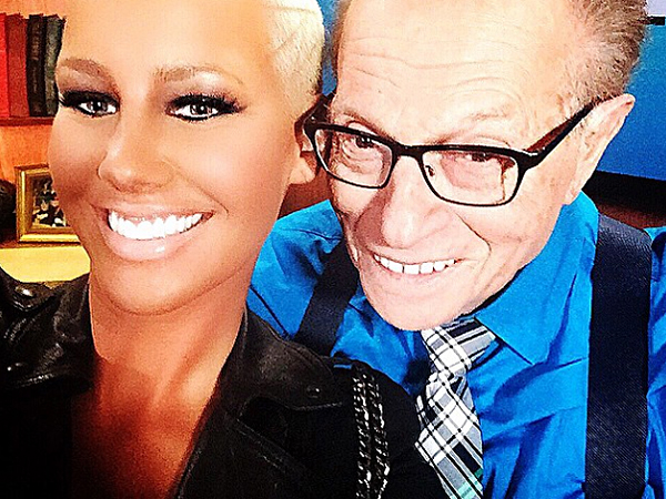 Larry king breaks down slang words with amber rose