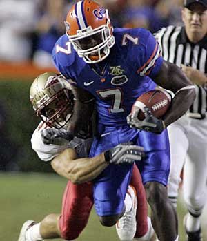 The Eagles selected Florida tight end Cornelius Ingram in the fifth round of April´s draft. (AP / File photo)
