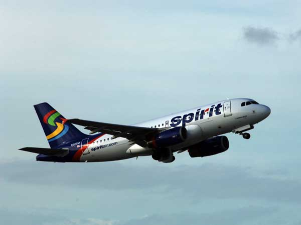 Spirit Airlines will be giving away flights to the first 1,000 people at the Independence Visitor Center on Thursday, May 16. (Courtesy of Spirit Airlines)