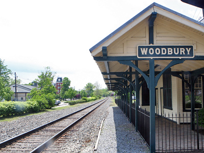 The rail line could be operational to Woodbury in five years and to Glassboro in six to 10, said PATCO's John J. Matheussen. (Bonnie Weller / Staff Photographer)