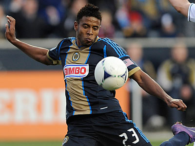 The Union traded Lionard Pajoy to D.C. United Thursday for midfielder Danny Cruz. (Michael Perez/AP file photo)