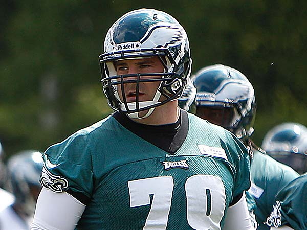Eagles offensive lineman Todd Herremans. (David Maialetti/Staff file photo)