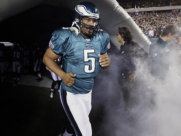Former Philadelphia Eagles quarterback Donovan McNabb. (Matt Slocum/AP file photo)
