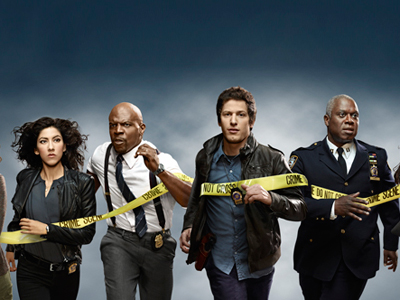 The cast of Fox´s Brooklyn Nine-Nine will cross the police tape.