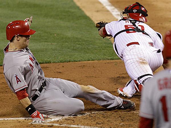 Phillies catcher Carlos Ruiz. (Laurence Kesterson/AP)