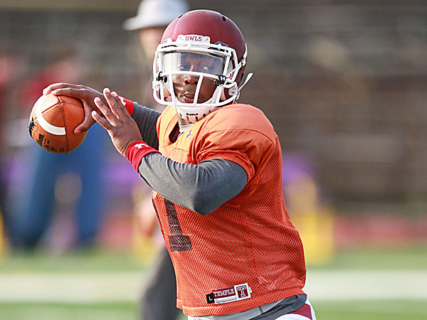 Temple quarterback P.J. Walker. (David Swanson/Staff Photographer)