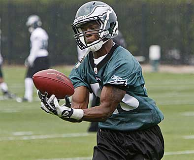 Eagles first-round pick Jeremy Maclin, pictured here during the team´s recent mini-camp, expects to be a contributor in his rookie season. (Michael S. Wirtz / Staff Photographer)