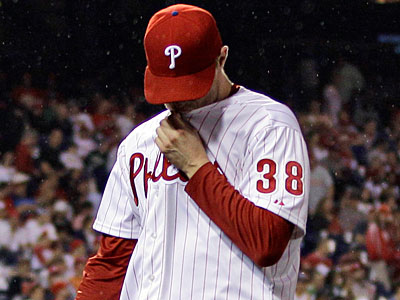 Phillies pitcher Kyle Kendrick allowed five runs on four hits in one inning during his last outing. (Matt Slocum/AP Photo)