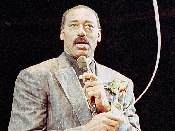 Wilt Chamberlain played 14 seasons in the NBA and won two championships. (Amy Sancetta/AP file photo)