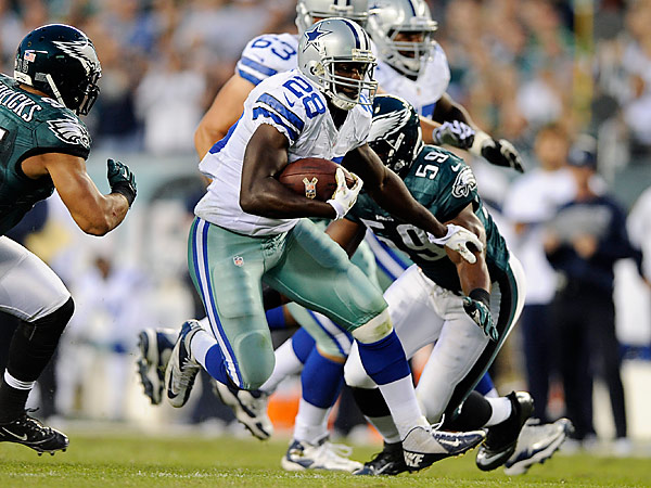 Former Dallas Cowboys running back Felix Jones has signed a one-year deal with the Eagles. (AP Photo/Michael Perez)