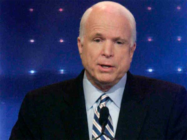 U.S. Sen. John McCain, R-Arizona. (Pablo Martinez Mosivais / Associated Press)