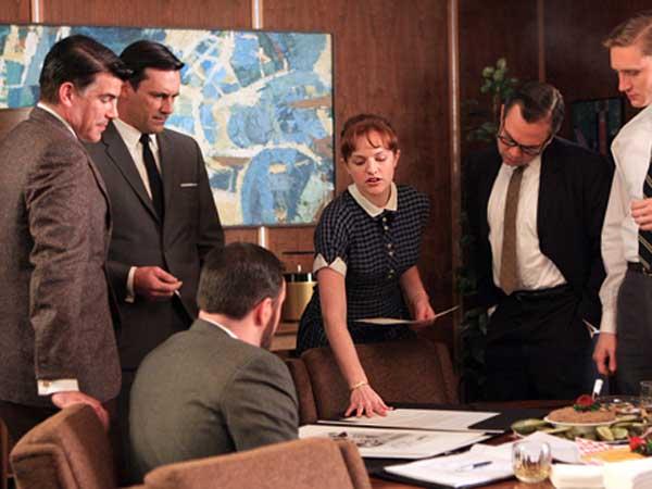 Mad Men - Season 2, episode 201Elisabeth Moss as Peggy Olsoncourtesy AMC