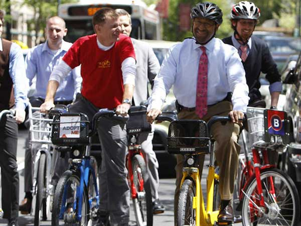 City Bikes Philadelphia most bike friendly cities