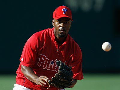 Jimmy Rollins could possibly return to the Phillies on Monday. (AP Photo/Matt Slocum)