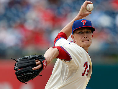 Phillies reliever Jake Diekman allowed four earned runs in two-thirds of an inning vs. the Cubs. (David Maialetti/Staff Photographer)