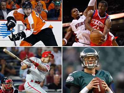 Rich Hofmann takes your questions about Philadelphia sports in today´s chat. (Staff and AP Photos)