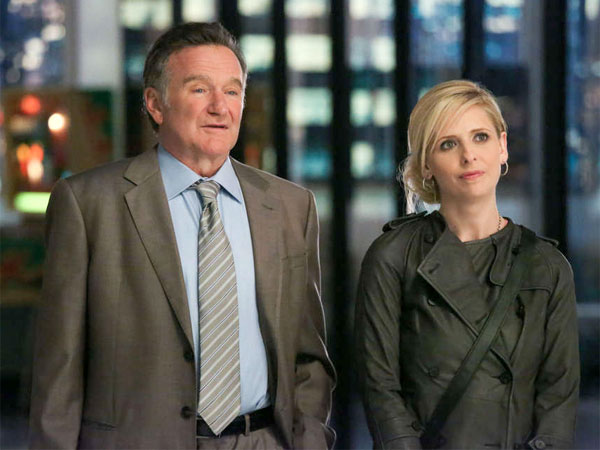 Robin Williams returns to series TV as an unorthodox ad exec whose daughter (Sarah Michelle Gellar) works with him.