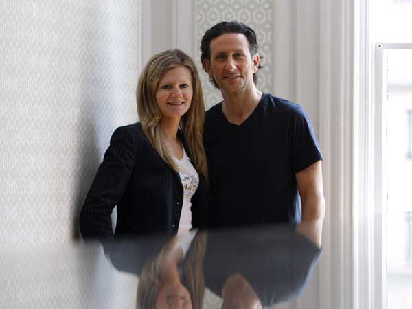 Kate Jacoby and Rich Landau are taking the vegetable cuisine juggernaut launched with Vedge to the next level. With the publication of the Vedge cookbook they will be going on a 5-city book tour. They are pictured here in their restaurant in Philadelphia on May 13, 2013. ( DAVID MAIALETTI / Staff Photographer )