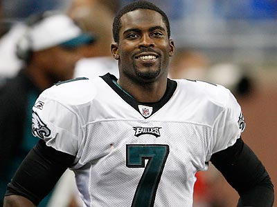 """I always believed I could get back to this point. I just needed a chance,"" Michael Vick said. (Ron Cortes/Staff file photo)"