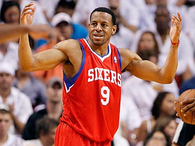 A recent trade rumor had Andre Iguodala going to Memphis in exchange for Rudy Gay. (David Maialetti/Staff Photographer)