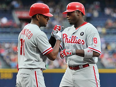 The Phillies are 17-2 when scoring four or more runs this season. (Paul Abell/AP)