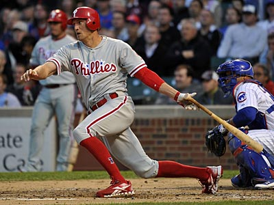 Through Saturday, Hunter Pence had played 100 games for the Phillies this season. (Brian Kersey/AP)
