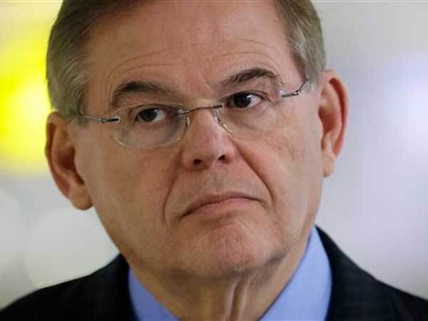New Jersey Sen. Bob Menendez, the chairman of the influential Senate Foreign Relations committee, sounded skeptical of the deal the Obama administration and several leading nations have struck with Iran. (AP Photo/Mel Evans, File)