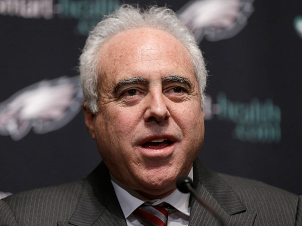 After 20 years, Lurie still driven to take Eagles to top