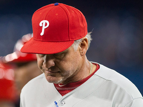 Phillies manager Ryne Sandberg. (Chris Young/The Canadian Press/AP file photo)