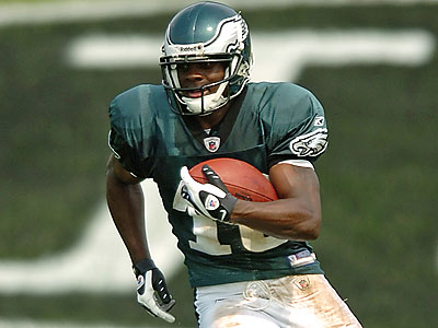 Jeremy Maclin averaged 13.8 yards per catch during his rookie season. (Clem Murray / Staff file photo)