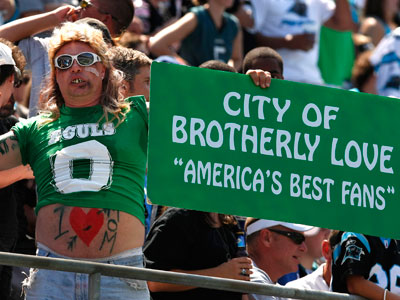 The behavior of Eagles fans has been under scrutiny for years. (Ron Cortes / Staff Photographer)