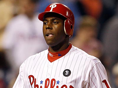 John Mayberry Jr. is in the Phillies´ lineup for the fourth consecutive game. (Yong Kim/Staff Photographer)