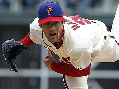 It´s still too early to determine the trade value of Cole Hamels. (David Maialetti/Staff Photographer)