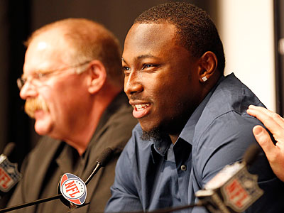 What did the LeSean McCoy signing reveal about Andy Reid? (Yong Kim / Staff Photographer)