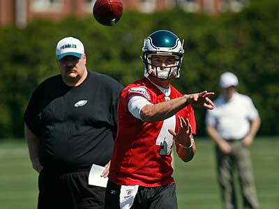 The Eagles begin OTAs Wednesday afternoon. (Alejandro A. Alvarez / Staff Photographer)