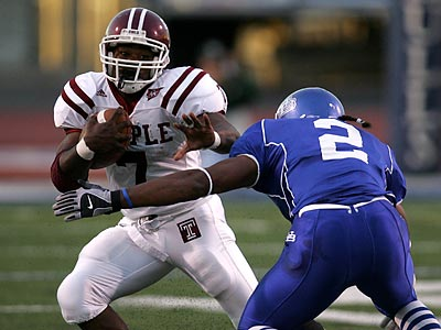 Tim Brown´s last season at Temple was 2006, when he ran for 731 yards on 182 carries. (David Duprey/AP file photo)