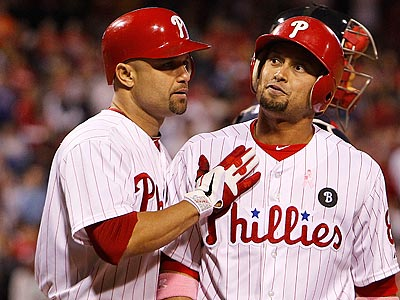 Shane Victorino will likely be placed on the DL with a strained hamstring. (Ron Cortes/Staff Photographer)