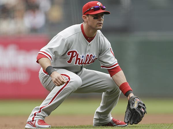 The Phillies´ Michael Young. (Marcio Jose Sanchez/AP)