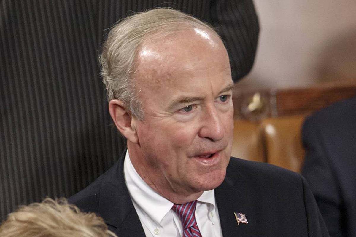File photo: U.S. Rep. Rodney Frelinghuysen, R-N.J., attends a joint meeting of Congress in the House of Representatives chamber at the Capitol in Washington.
