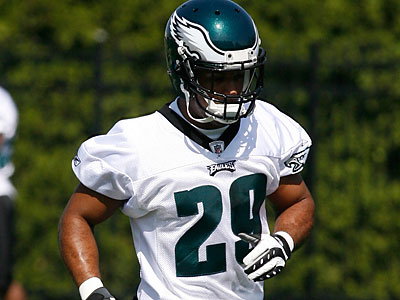 Nate Allen (29) practiced with the first team Wednesday. (Alejandro A. Alvarez/Staff file photo)