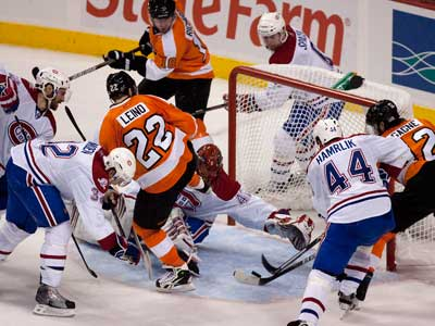 The Flyers will play Game 3 against the Canadiens tonight. (Ed Hille / Staff Photographer)