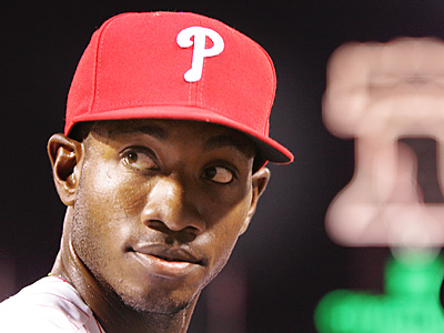 Phillies outfielder Domonic Brown. (David M Warren/Staff File Photo)