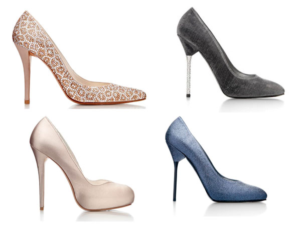 Stuart Weitzman shoes. (AP Photos)